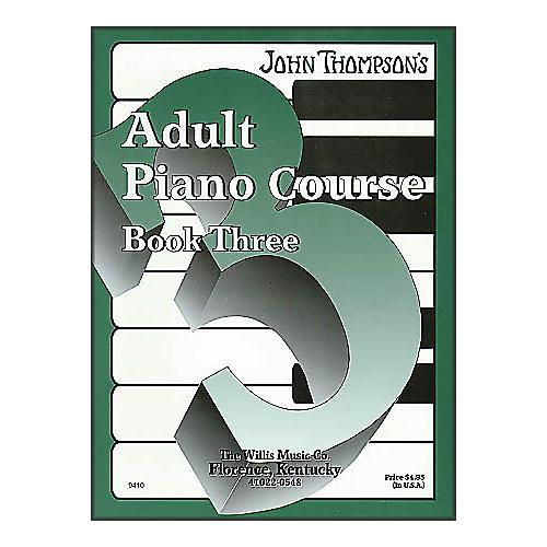 Willis Music John Thompson's Adult Piano Course Book Three-thumbnail