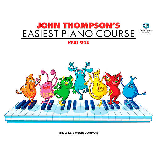 Willis Music John Thompson's Easiest Piano Course Part 1 Book/CD-thumbnail