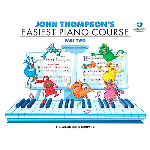Willis Music John Thompson's Easiest Piano Course Part 2 Book/CD-thumbnail
