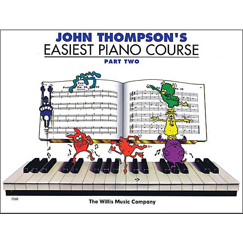 Hal Leonard John Thompson's Easiest Piano Course Part 2-thumbnail