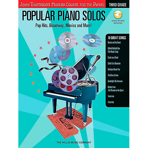 Willis Music John Thompson's Modern Course for Piano - Popular Piano Solos Grade 3 Book/CD-thumbnail