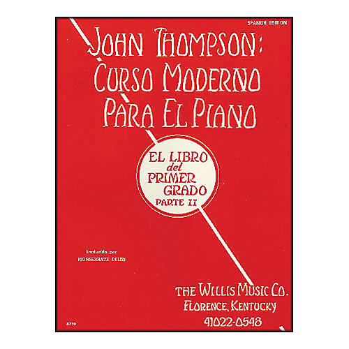 Willis Music John Thompson's Modern Course for Piano Book 2 (Spanish Edition) Curso Moderno-thumbnail