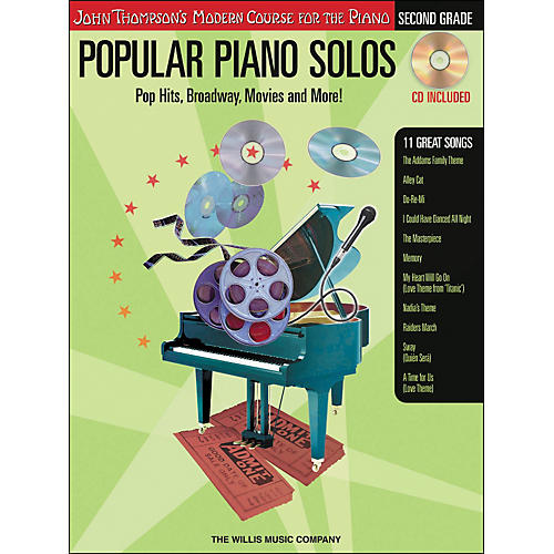 Willis Music John Thompson's Modern Course for The Piano - Popular Piano Solos Second Grade-thumbnail