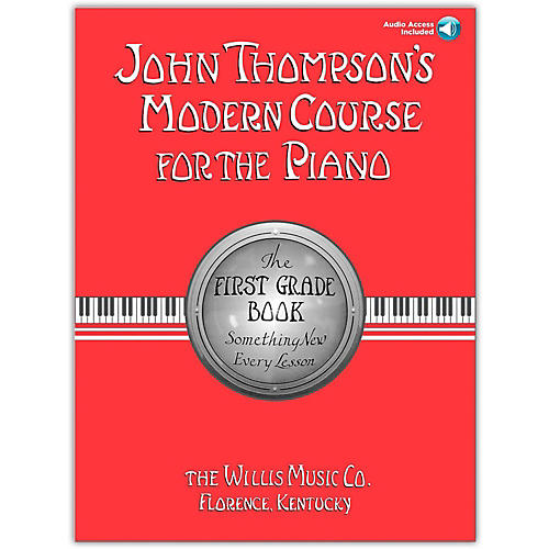 Willis Music John Thompson's Modern Course for The Piano Grade 1 (Book/Online Audio)-thumbnail
