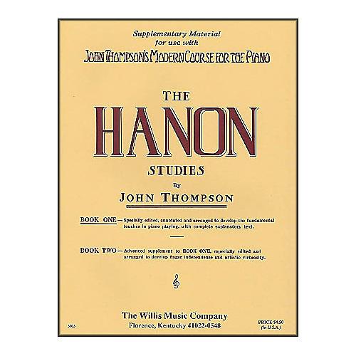 Willis Music John Thompson's Modern Course for The Piano Hanon Studies Book One-thumbnail