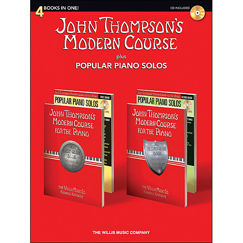 Hal Leonard John Thompson's Modern Course plus Popular Piano Solos Book/CD-thumbnail