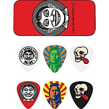 Dunlop John VanHanersvelt Johnny Face Pick Tin with 6 Picks