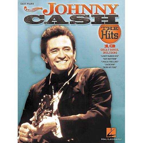 Hal Leonard Johnny Cash - The Hits For Easy Piano-thumbnail