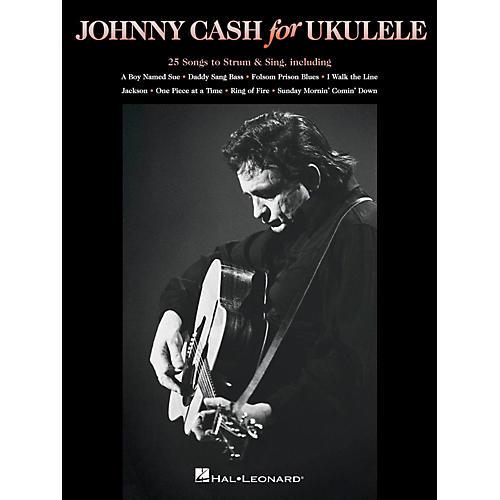 Hal Leonard Johnny Cash For Ukulele-thumbnail