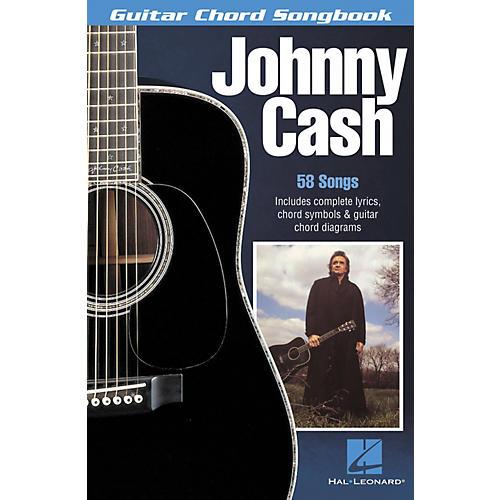 Hal Leonard Johnny Cash Guitar Chord Book-thumbnail