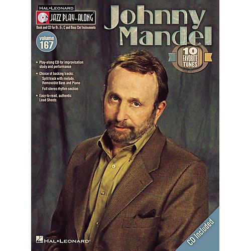 Hal Leonard Johnny Mandel - Jazz Play-Along Volume 167 Book/CD-thumbnail