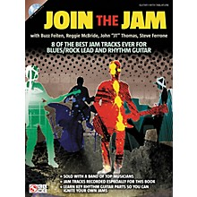 Cherry Lane Join The Jam - 8 Of The Best Backing Tracks Ever For Blues And Rock Guitar (Book/CD)