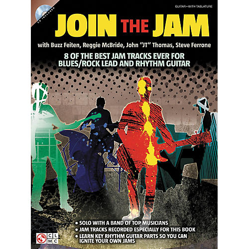 Cherry Lane Join The Jam - 8 Of The Best Backing Tracks Ever For Blues And Rock Guitar (Book/CD)-thumbnail