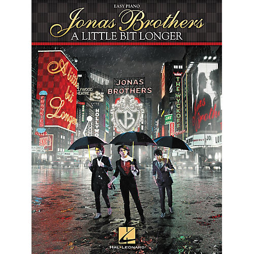 Hal Leonard Jonas Brothers - A Little Bit Longer For Easy Piano