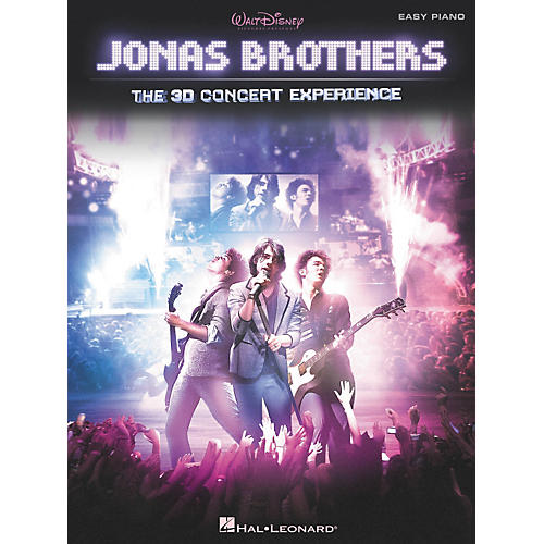 Hal Leonard Jonas Brothers: The 3D Concert Experience For Easy Piano-thumbnail