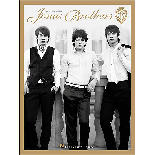 Hal Leonard Jonas Brothers arranged for piano, vocal, and guitar (P/V/G)-thumbnail