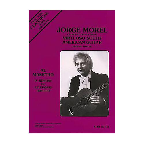 Ashley Mark Jorge Morel Classical Guitar Solos Virtuoso South American Volume 12
