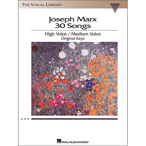 Hal Leonard Joseph Marx - 30 Songs for High / Medium Voice in Original Keys-thumbnail