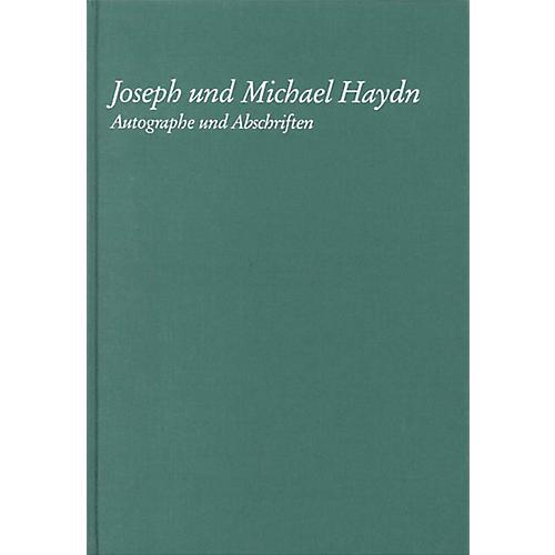 G. Henle Verlag Joseph Und Michael Haydn - Autographe Und Abschriften Henle Books Series Hardcover
