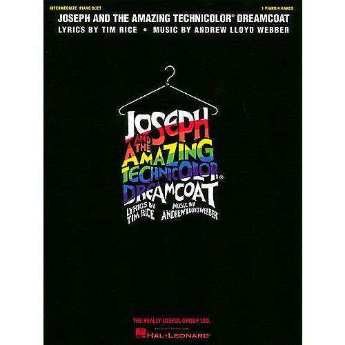 Hal Leonard Joseph and the Amazing Technicolor Dreamcoat Duet Piano Education Series Composed by Andrew Lloyd Webber