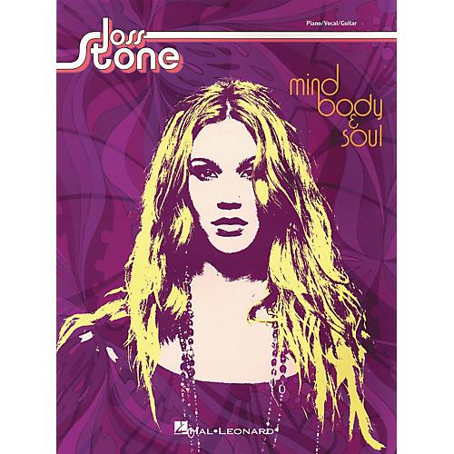 Hal Leonard Joss Stone - Mind Body & Soul Piano, Vocal, Guitar Songbook