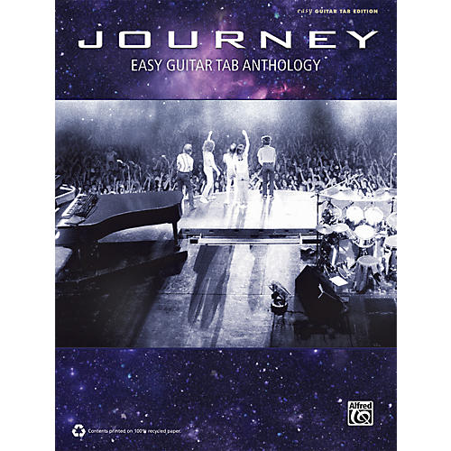 Alfred Journey - Easy Guitar Anthology Book-thumbnail