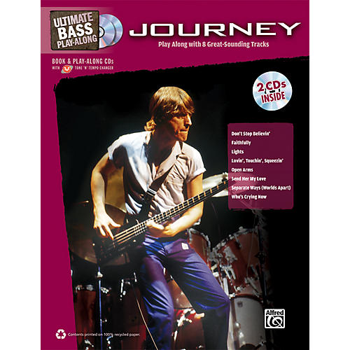 Alfred Journey - Ultimate Bass Play-Along Book & 2 CDs-thumbnail