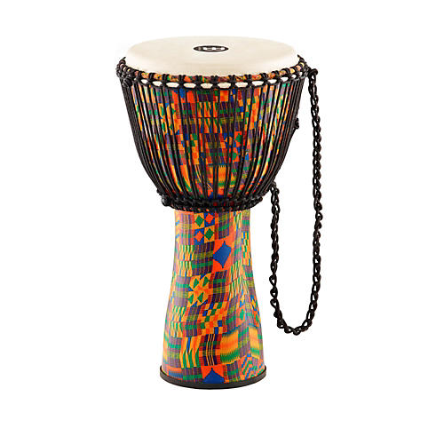Meinl Journey Series Rope Tuned Fiberglass Goatskin Head Djembe-thumbnail