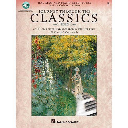 Hal Leonard Journey Through The Classics - Book 3 Early Intermediate Book/Online Audio-thumbnail