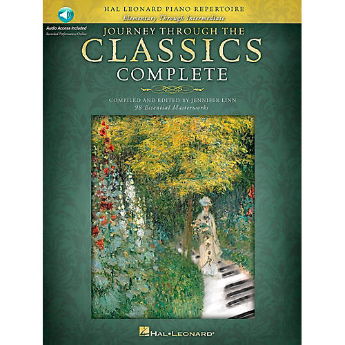 Hal Leonard Journey Through The Classics Complete - Book/2CD Pack