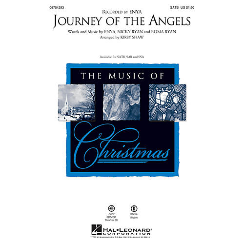 Hal Leonard Journey of the Angels ShowTrax CD by Enya Arranged by Kirby Shaw