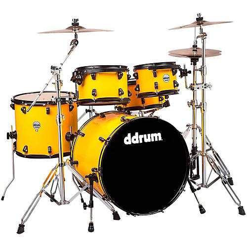 Ddrum Journeyman Player 5-Piece Drum Kit Flash Yellow