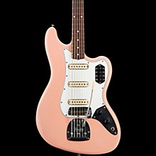 Fender Custom Shop Journeyman Relic Bass VI Electric Bass Guitar Aged Shell Pink
