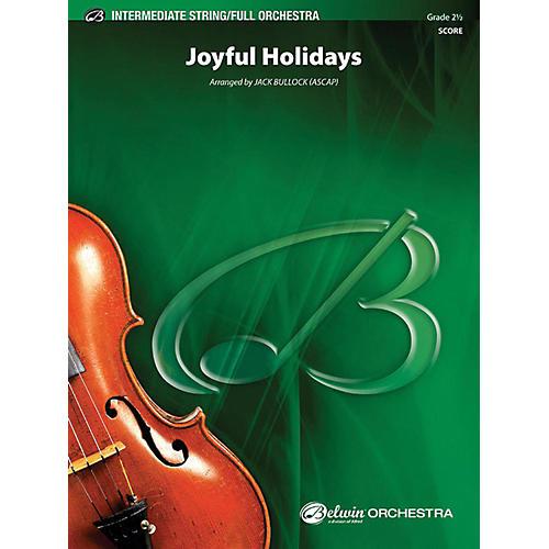Alfred Joyful Holidays Full Orchestra Grade 2.5