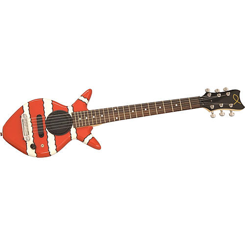 Goldfish Guitars Juba Clownfish Electric Guitar with Speaker