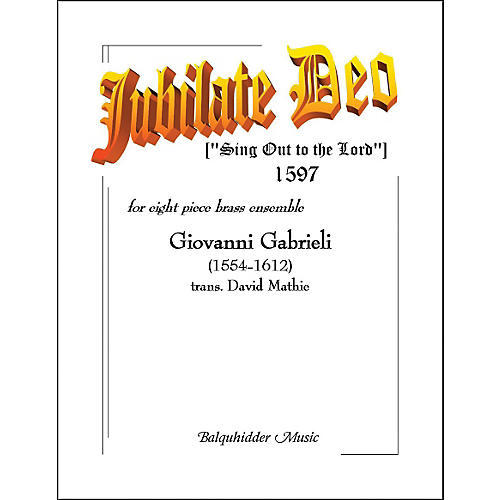 Carl Fischer Jubilate Deo Book