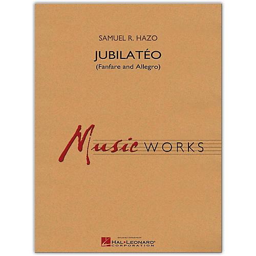 Hal Leonard Jubilato (Fanfare and Allegro) MusicWorks Concert Band Grade 5
