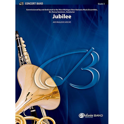 BELWIN Jubilee Concert Band Grade 3 (Medium Easy)-thumbnail