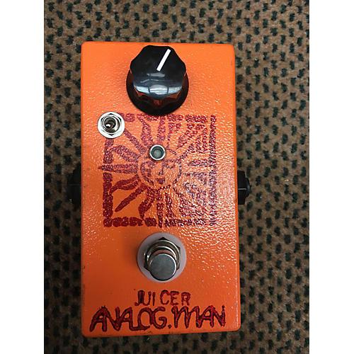 Analogman Juicer Effect Pedal-thumbnail