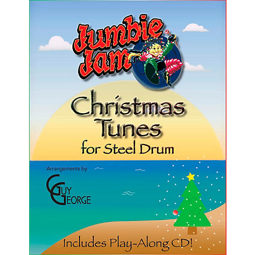 Panyard Jumbie Jam Christmas Tunes for Steel Drum (Book)-thumbnail