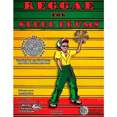 Panyard Jumbie Jam Reggae for Steel Drum Song Book-thumbnail