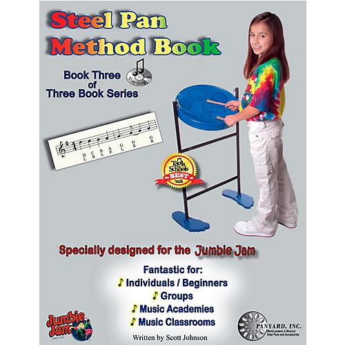Panyard Jumbie Jam Steel Pan Method Book 3-thumbnail