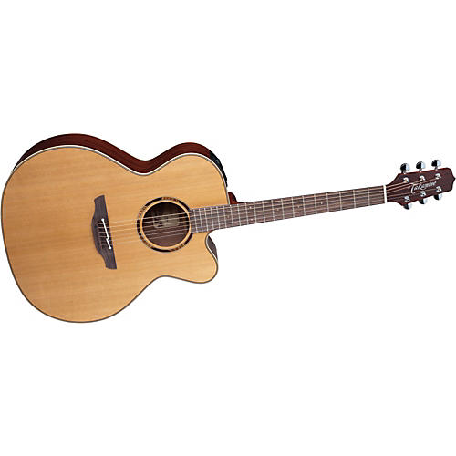 Takamine Jumbo ETN20C Acoustic-Electric Guitar Satin Natural