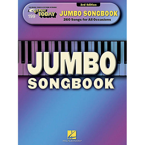 Hal Leonard Jumbo Songbook E-Z Play Today #199-thumbnail
