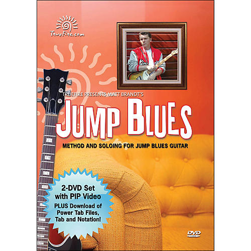 Hal Leonard Jump Blues - Instructional Guitar 2-DVD Pack Featuring Matt Brandt