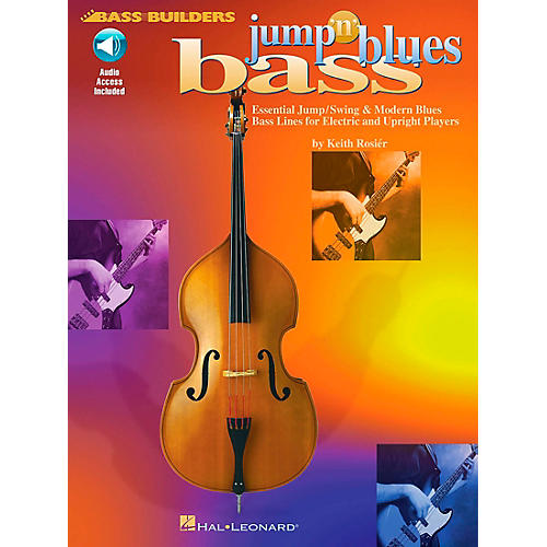 Hal Leonard Jump 'n' Blues Bass (Book/CD)-thumbnail