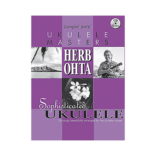 Flea Market Music Jumpin Jim's Ukulele Masters: Herb Ohta (Book/CD)