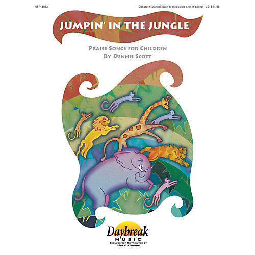 Daybreak Music Jumpin' in the Jungle PREV CD Composed by Dennis Scott