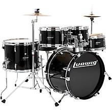 Ludwig Junior Outfit Drum Set Level 1 Black