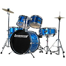 Ludwig Junior Outfit Drum Set Level 1 Blue